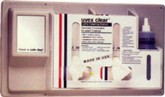 Uvex #S461 Safety Eyewear Lens Cleaning Station