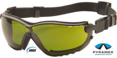 Pyramex #GB1860SFT V2G Safety Eyewear w/ 3.0 Green Lens