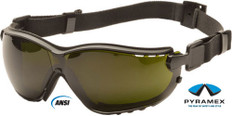 Pyramex #GB1850SFT V2G Safety Eyewear w/ 5.0 Green Lens