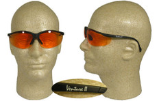 Pyramex #SB1840s Venture II Safety Eyewear w/ Orange Lens