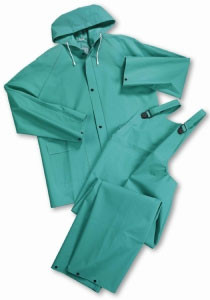 Westchester 2 Piece 40 mm Green Chemical Suits