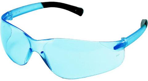 MCR Crews #BK213 Mini Bearkat Safety Eyewear w/ Light Blue Lens