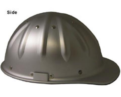 Aluminum Cap Style Hard Hats w/Ratchet Suspension