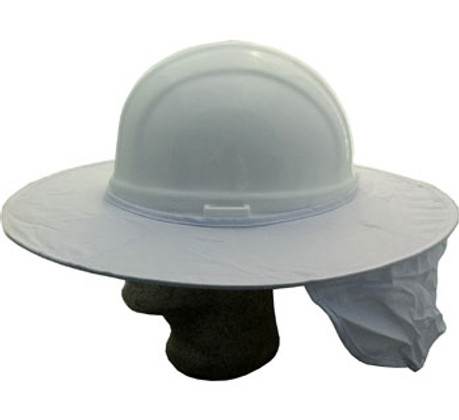 3663a11928a OccuNomix 899-KHK Stow-Away Hard Hat Sun Shade  (Khaki )