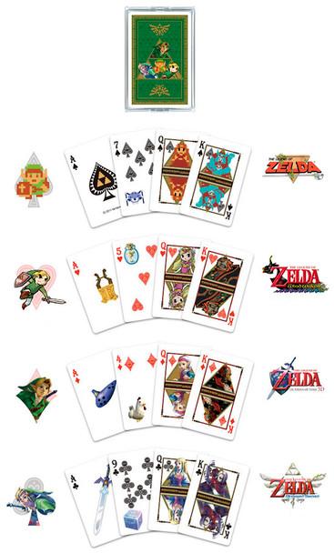 """Nintendo Japan """"Legend of Zelda Trump"""" Playing Card Set (POKER CARDS)"""