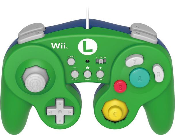 HORI Battle Pad for Wii U - Luigi Version