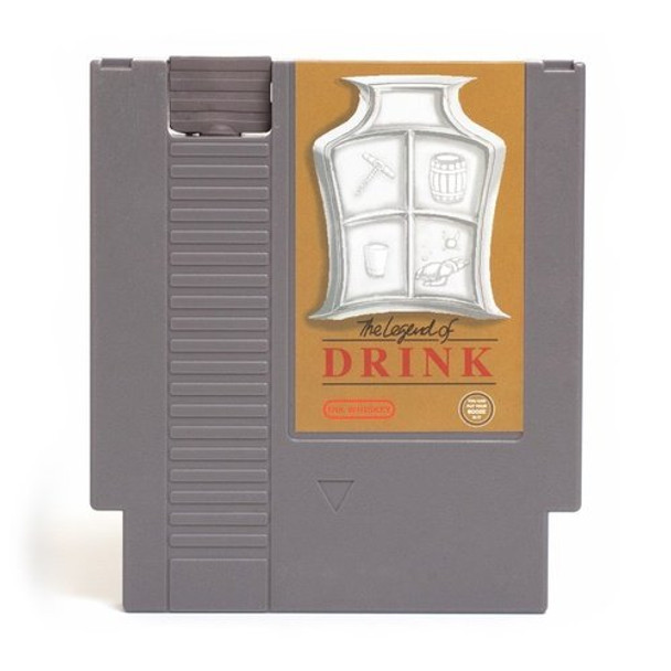 CONCEALABLE ENTERTAINMENT FLASK - LEGEND OF DRINK