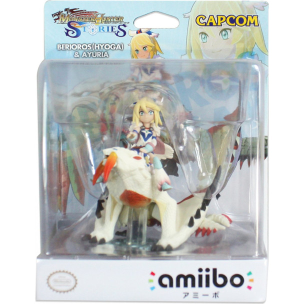 aAmiibo Barioth (Glacier) & Ayuria Monster Hunter Stories - Japan Import