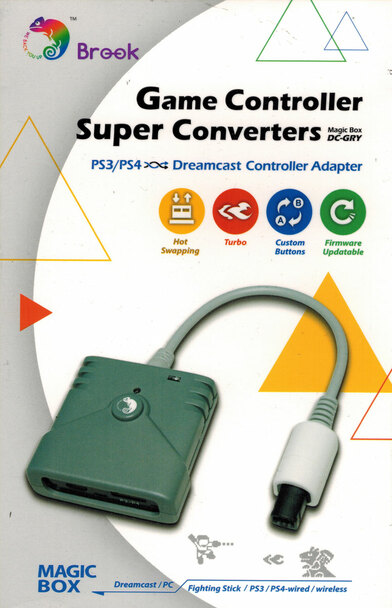 Brook Retro Converter: PS3/PS4 to Dreamcast Adapter