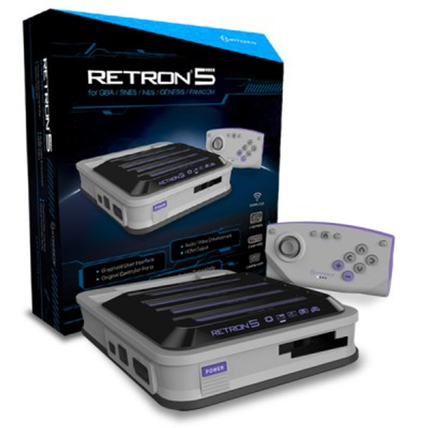 RetroN 5 Gaming Console (Gray)