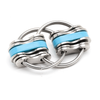 Noah Jumbo - Aqua (Split Rings)