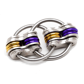 School Team - Purple & Gold (Solid)