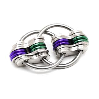 School Team - Purple & Green (Solid)