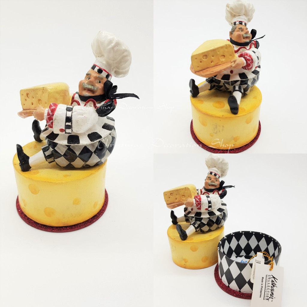 Katherine's Collection Chef Trinket Box