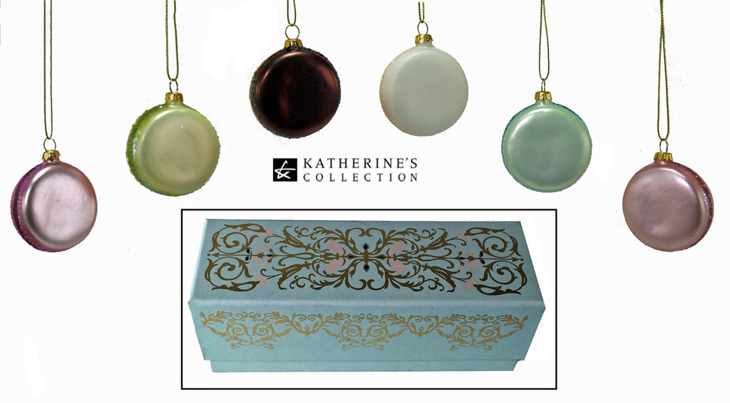 Katherine's Collection Macaroon Tree Decorations