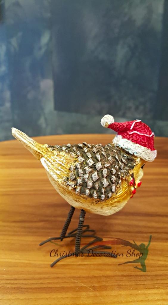 Christmas Robin Display Ornament