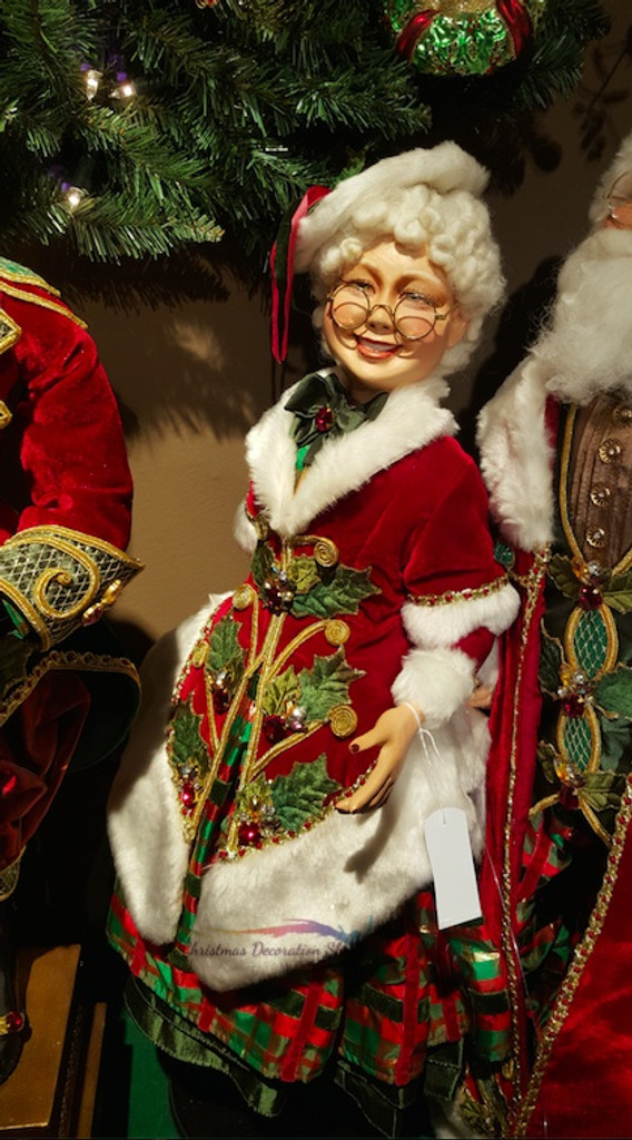 Katherine's Collection 2018 Traditional Mrs Clause