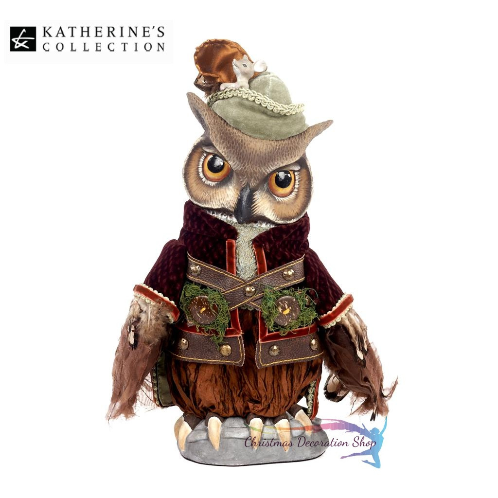 Katherine's Collection Owl Doll