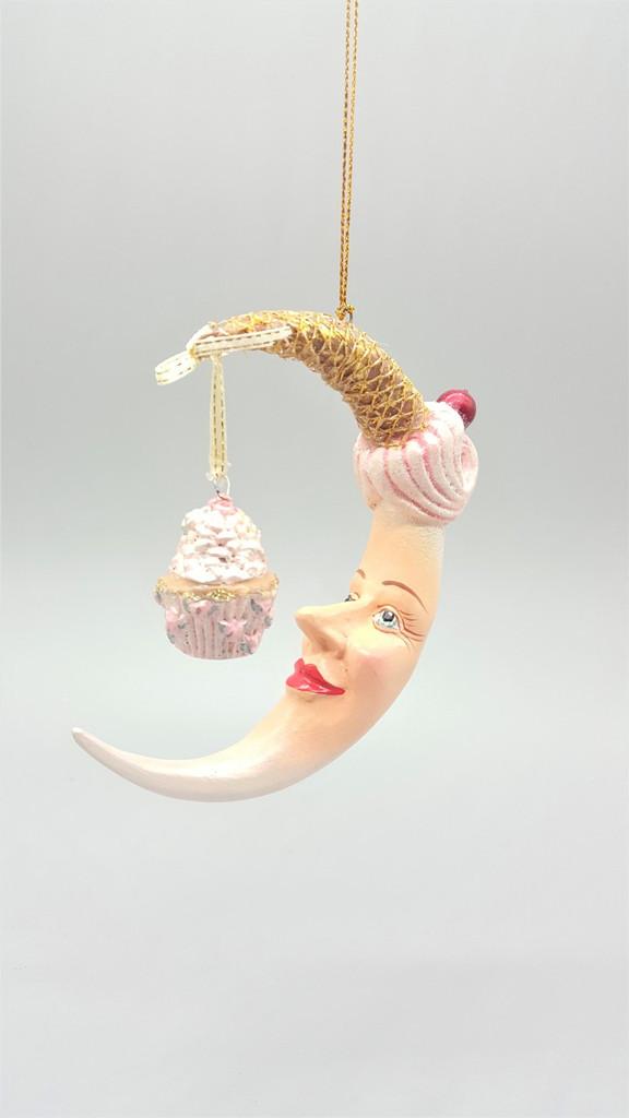 Moon Cupcake Tree Decoration