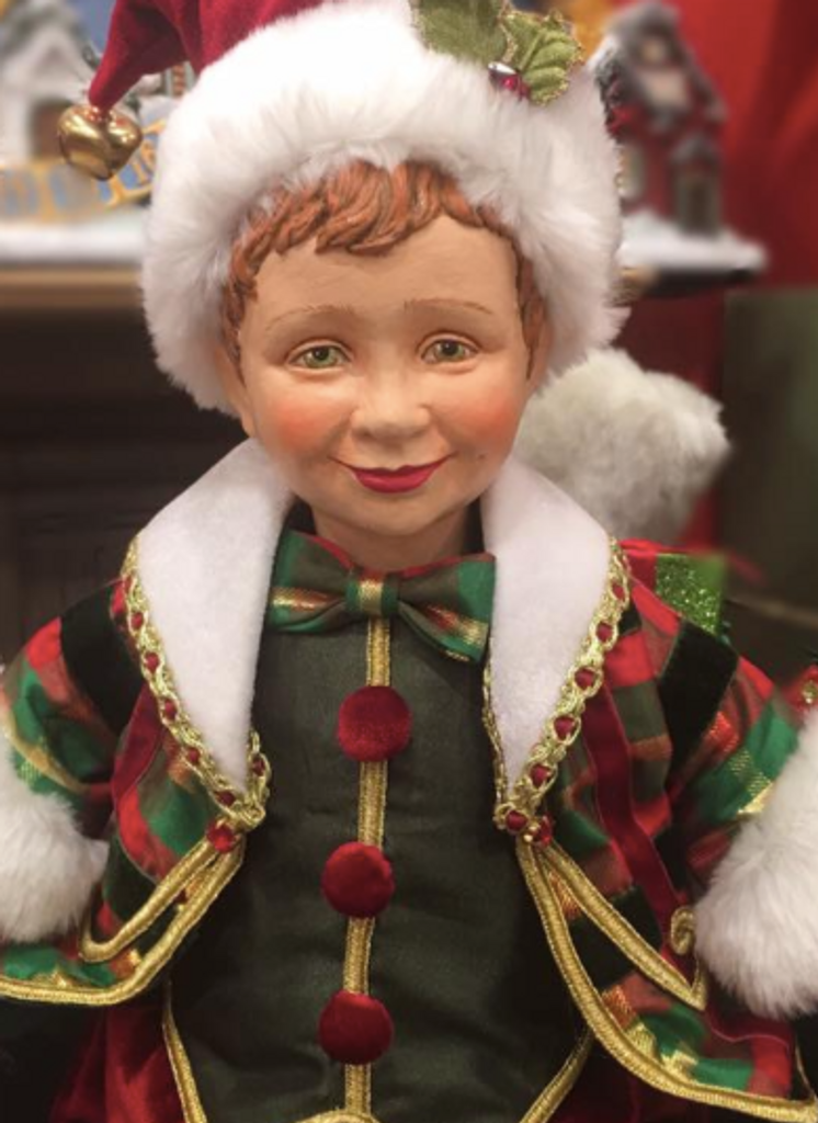 Katherine's Collection 2018 Christmas Elf Doll