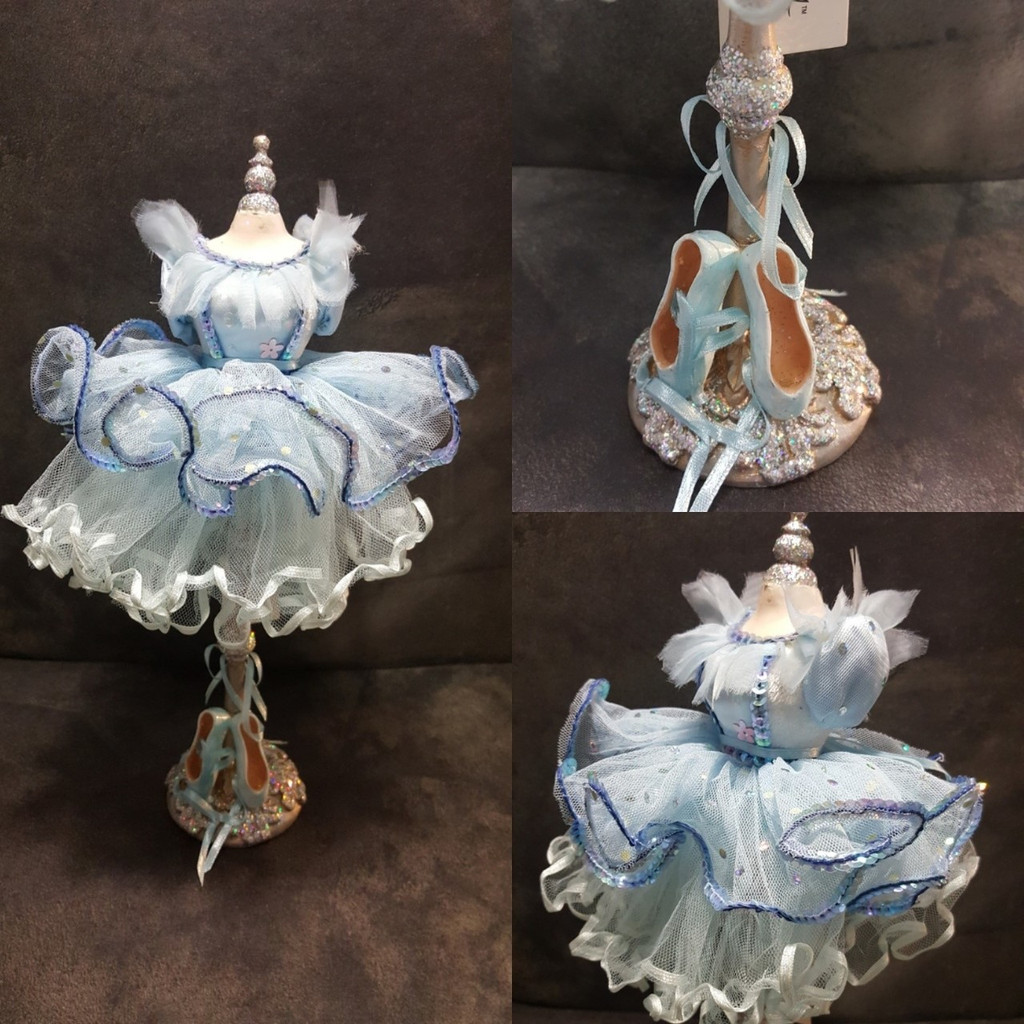 Katherine's Collection Ballerina Bust Stand Ornament