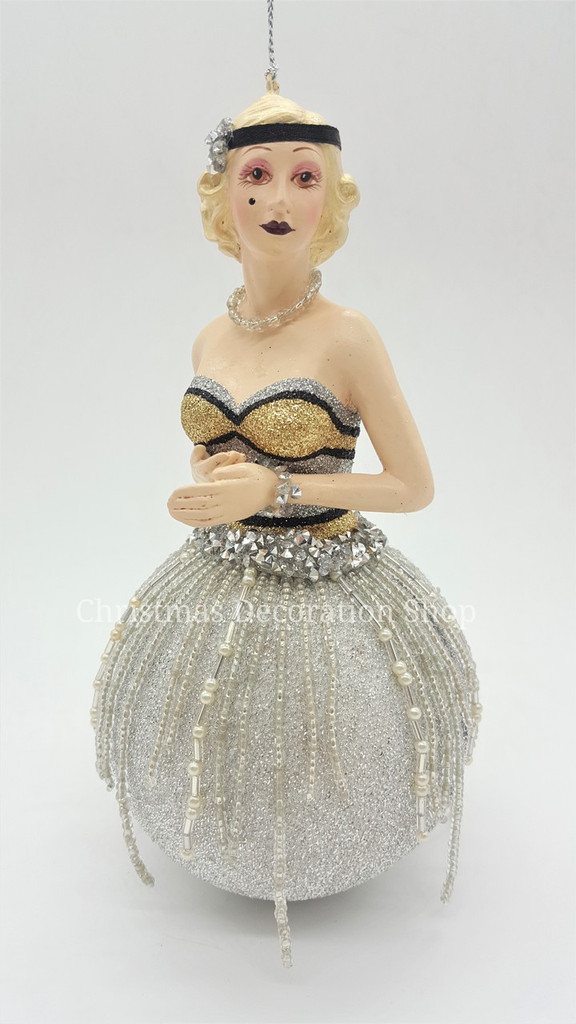 Goodwill 2018 Gatsby Lady Ball Christmas Decoration