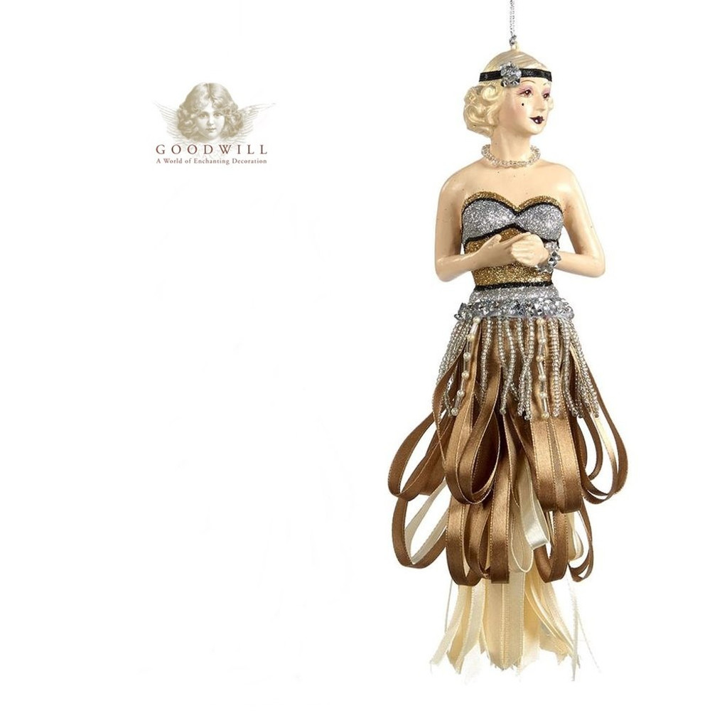 Gatsby 2018 Lady Tassel Christmas Decoration