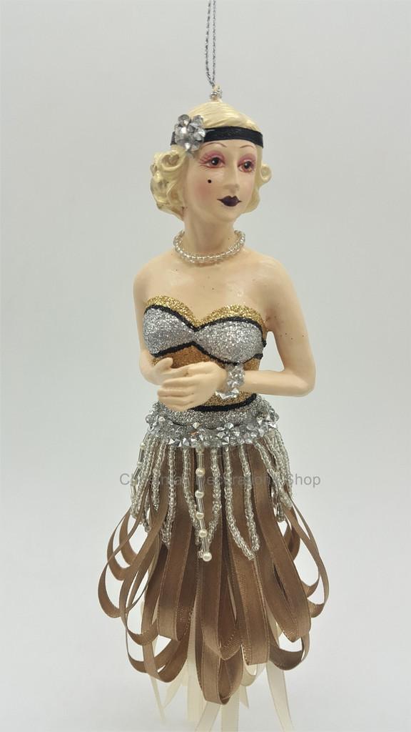Gatsby 2018 Lady Tassel Christmas Decoration