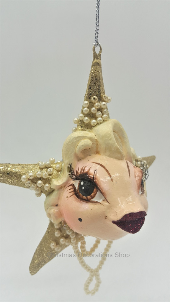 Goodwill 2018 Gatsby Star Kissing Fish Ornament