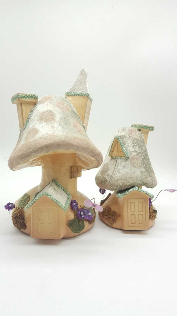 Katherine's Collection Large Mushroom House Set