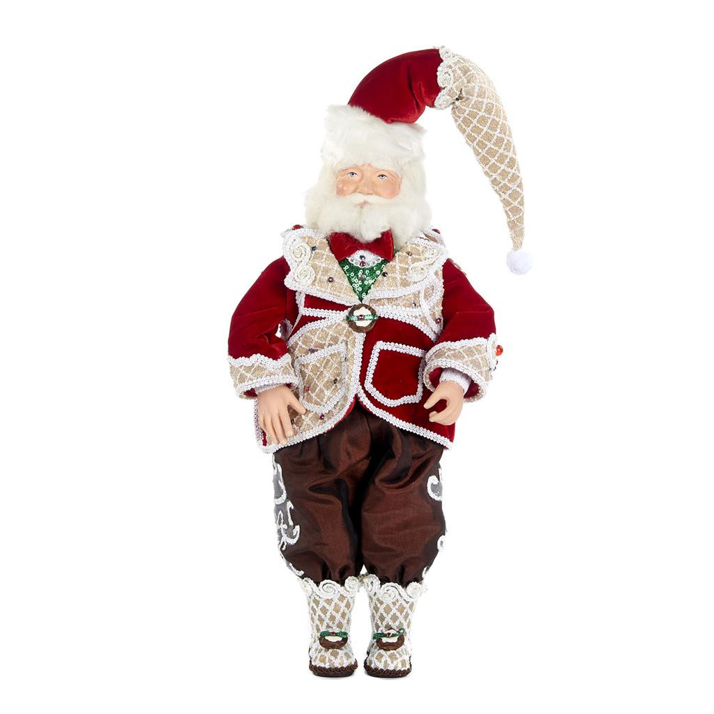 Katherine's Collection Sweet Xmas Santa Doll 48cm