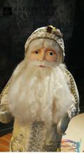 Katherine's Collection Vintage Santa Doll Display