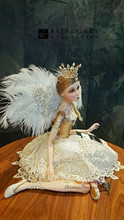 Katherine's Collection Christmas Royal Sitting Fairy  Doll