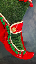 Elf Christmas Stocking