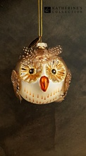 Katherine's Collection Handmade Glass Owl