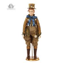 Mad Hatter Christmas Doll Display