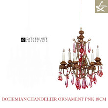 Katherine's Collection Pink Christmas Tree Chandelier Ornament