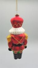 Katherine's Collection 2018 Glass Nutcracker Christmas Decoration