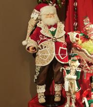 Katherine's Collection 2018 Sweet Xmas Santa Doll