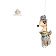 Gatsby Seahorse Christmas Tree ornament Display 12,5cm