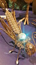 Jewel Grasshopper Clip Display Ornament