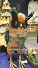 Goodwill Brocade Owl Display