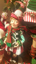 Katherine's Collection Elf Doll Display
