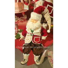 Katherine's Collection Sweet Xmas Santa Doll