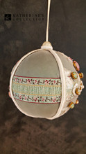Katherine's Collection Christmas Fabric Bauble