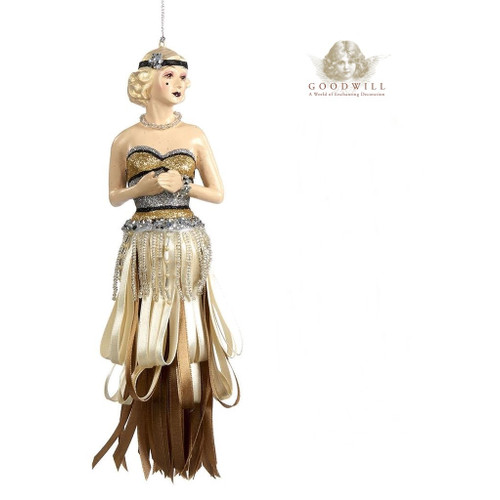 Gatsby Lasy Tassel Christmas Tree Decoration