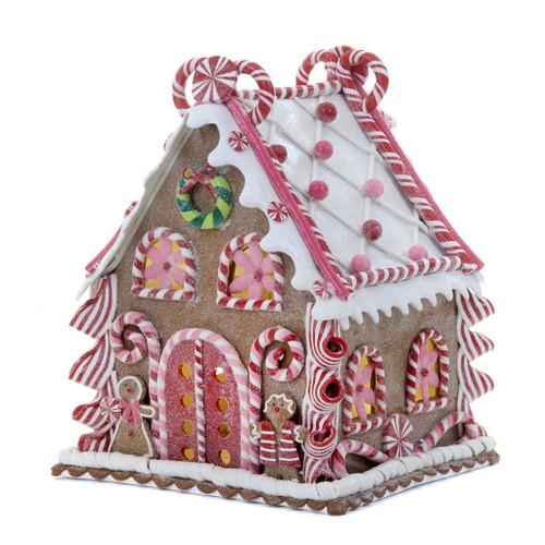 Led Gingerbread House Display 26,5cm