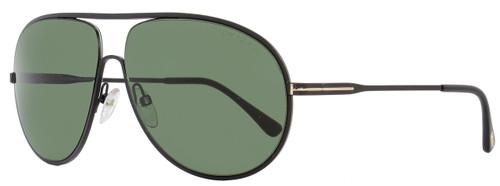 Tom Ford Aviator Sunglasses TF450 Cliff 02N Matte Black FT0450