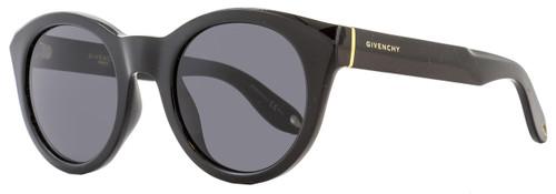 Givenchy Round Sunglasses GV7003/S D28E5 Shiny Black 7003
