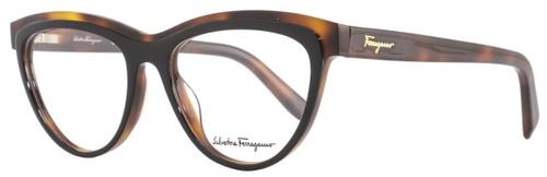 Salvatore Ferragamo Cateye Eyeglasses SF2750 006 Size: 54mm Black/Havana 2750